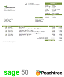 Sage 50 Simple Invoice Product A2
