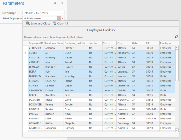 Sage 50 Sales Commission Report With Excel Parameters